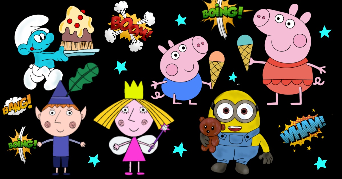 cartoni animati da colorare