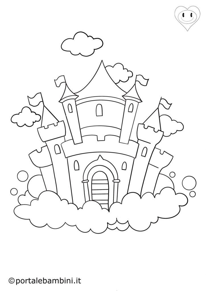 castello da colorare 3