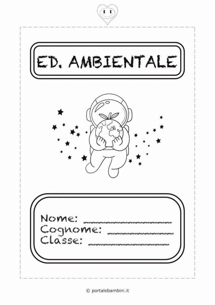 copertine per quaderni di scuola educazione ambientale