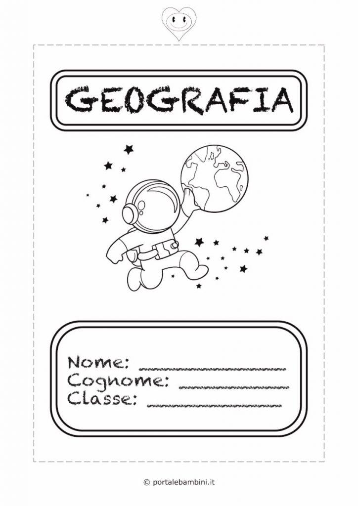 copertine per quaderni di scuola geografia