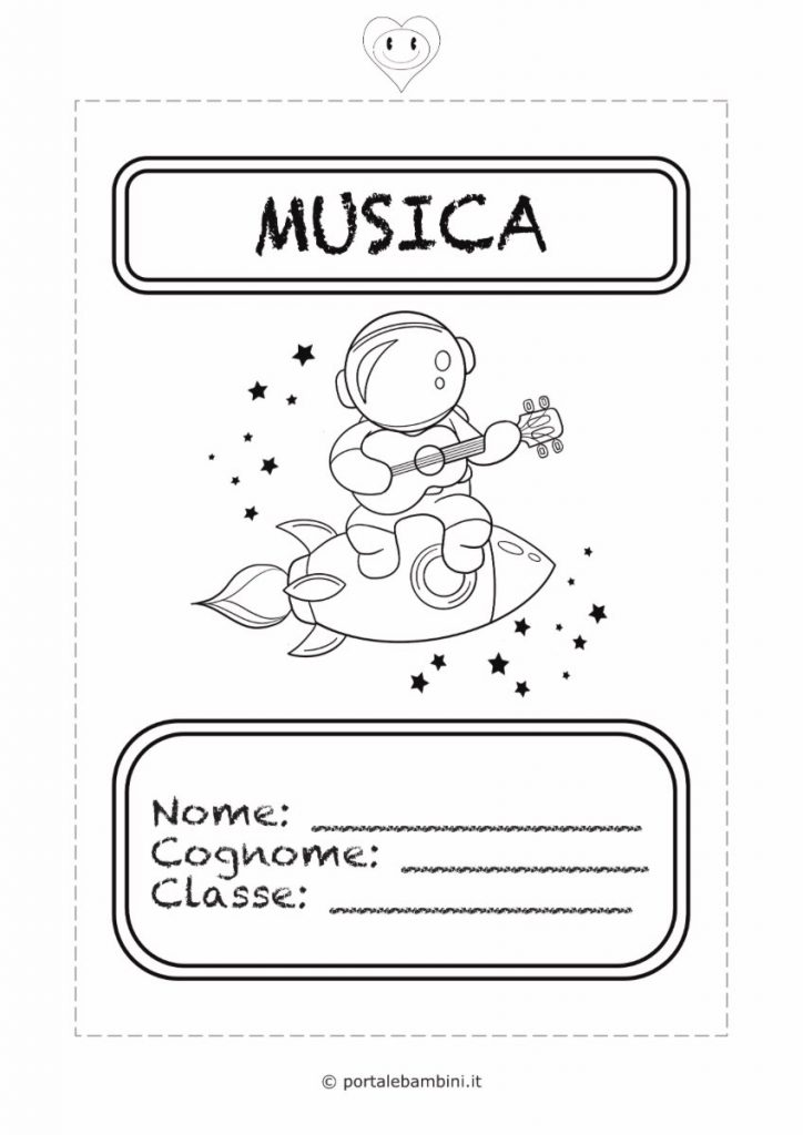 copertine per quaderni di scuola musica
