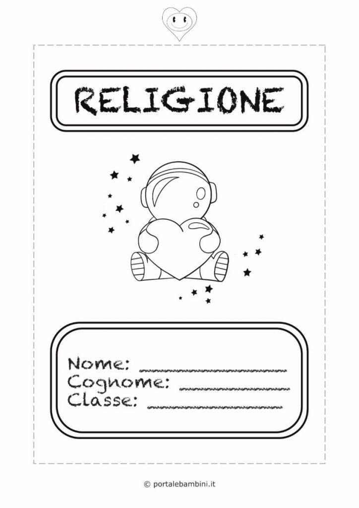 copertine per quaderni di scuola religione