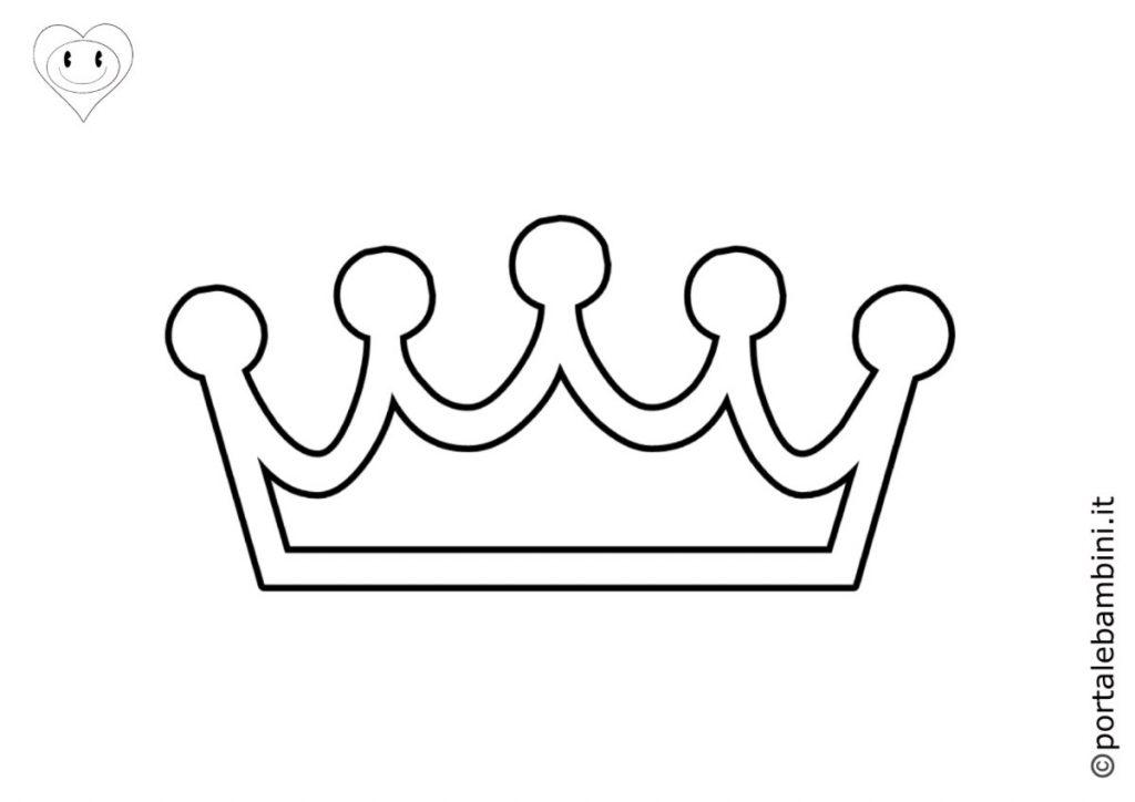corona da colorare 2