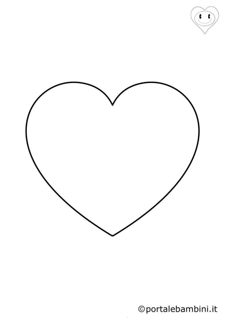 cuore da colorare 1