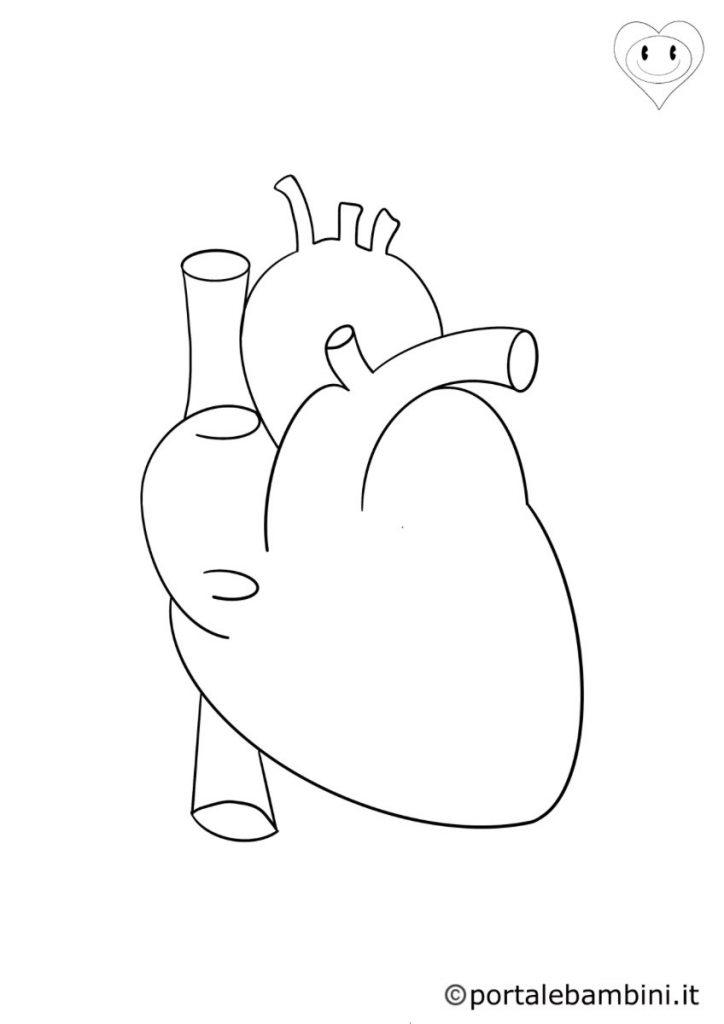 cuore da colorare 2