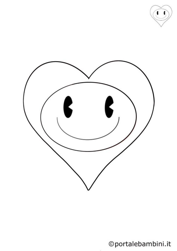 cuore da colorare 3