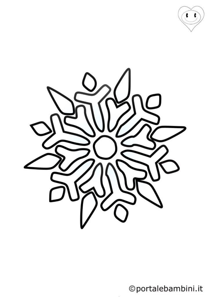 fiocchi di neve da colorare 3