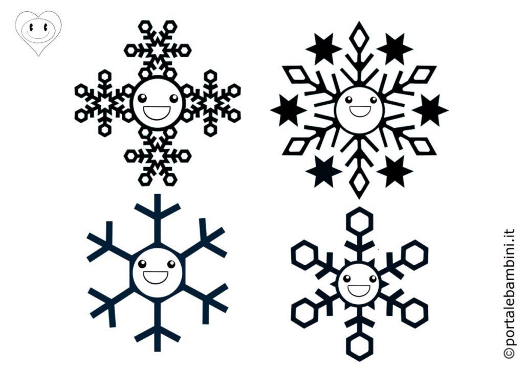 fiocchi di neve da colorare 6