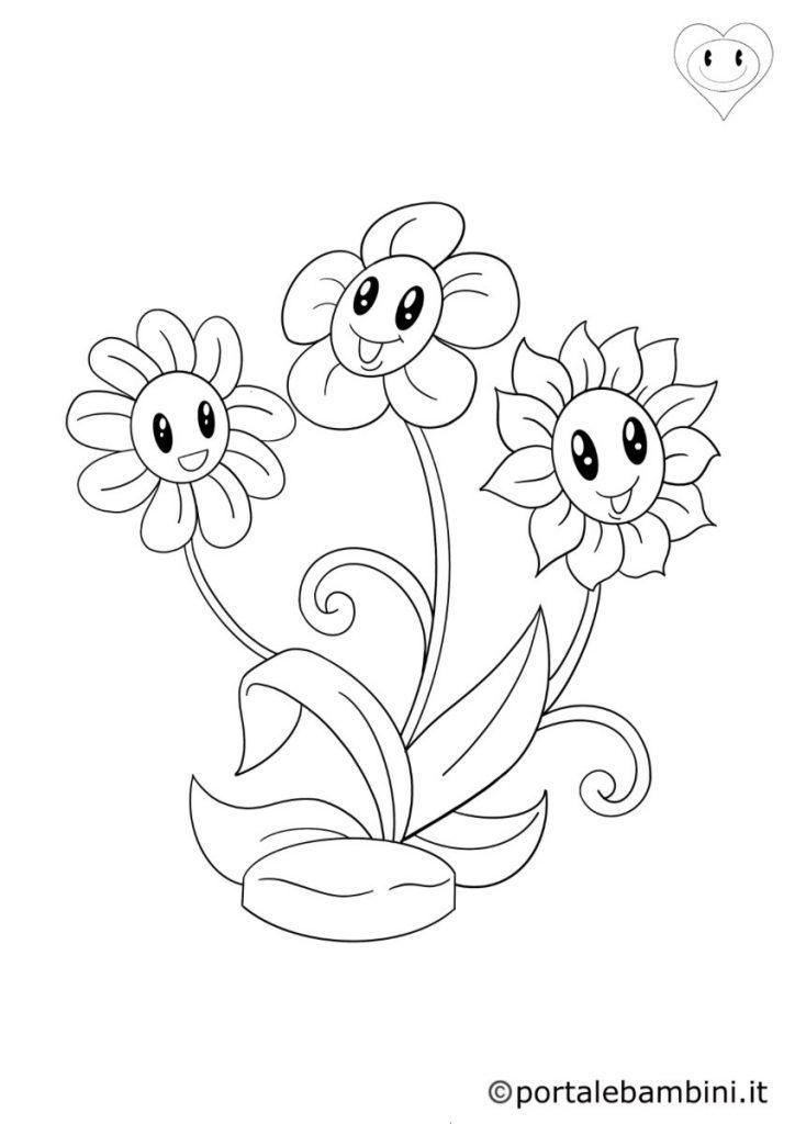 fiori da colorare 1