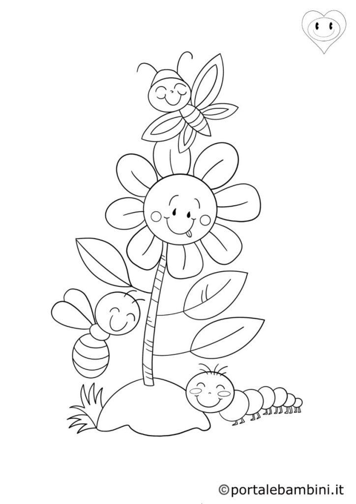 fiori da colorare 3