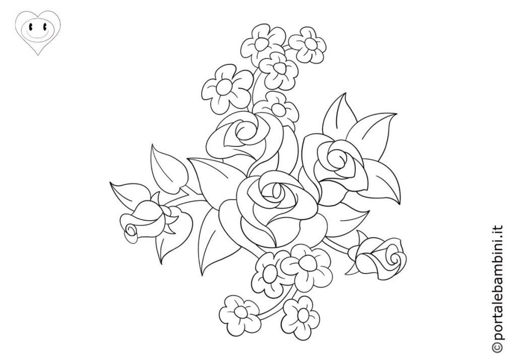 fiori da colorare 6