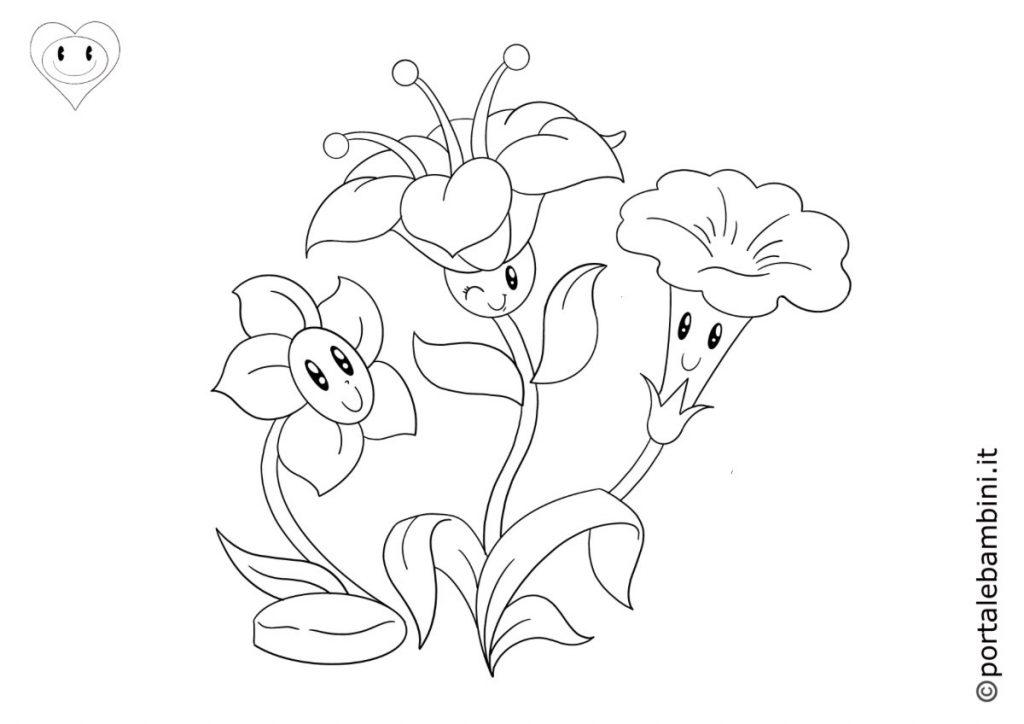 fiori da colorare 5