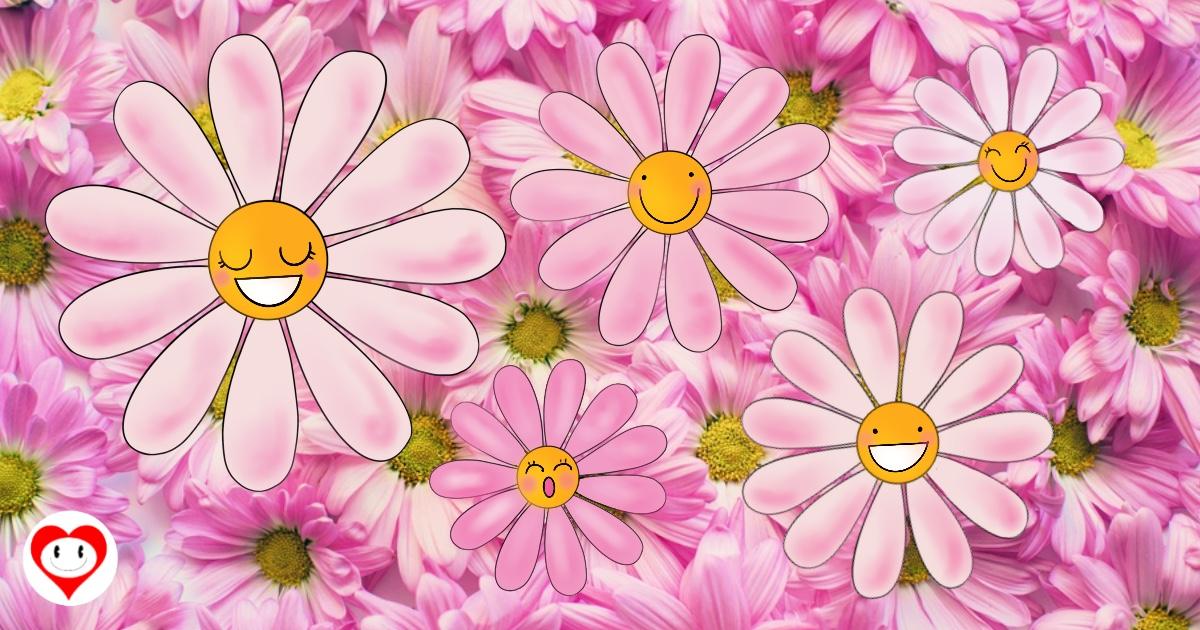 fiori da ritagliare