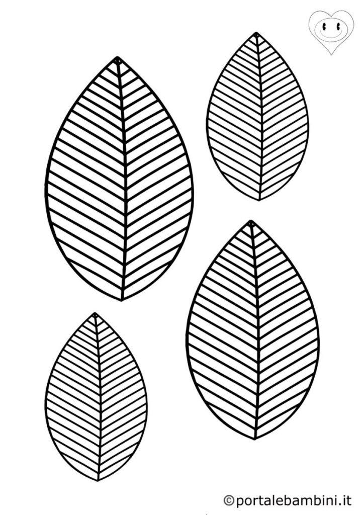 foglie da colorare 3