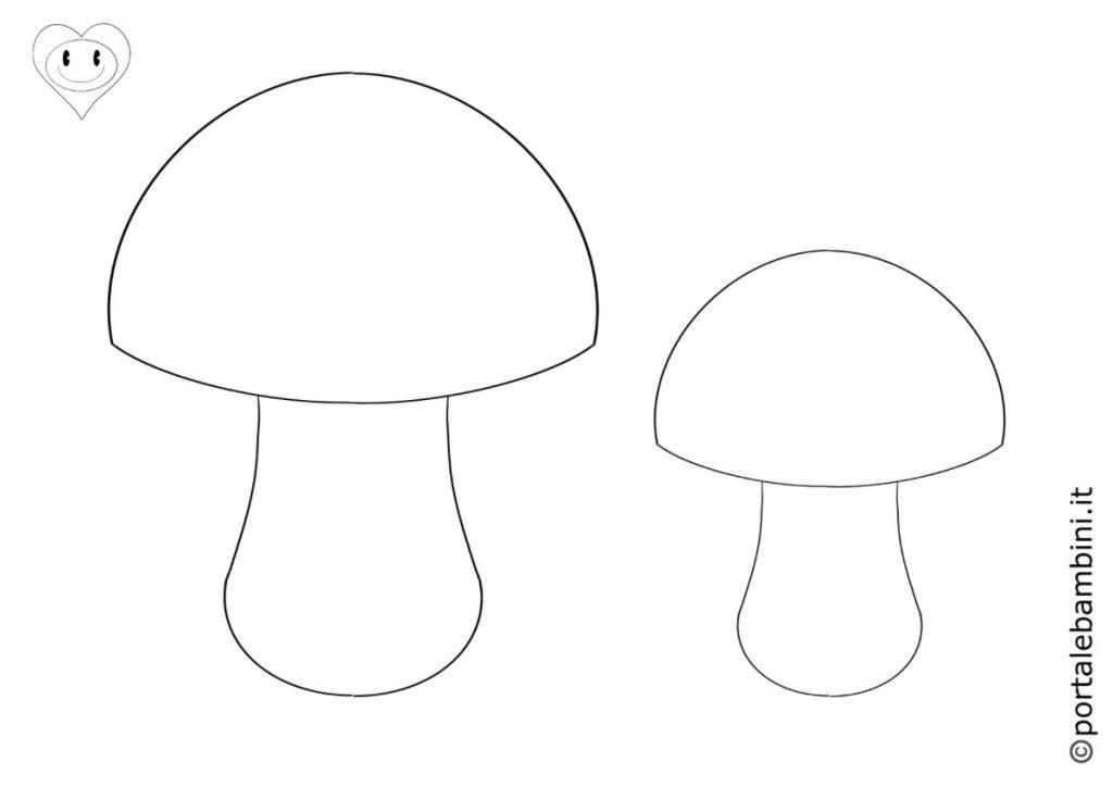 funghi da colorare 4