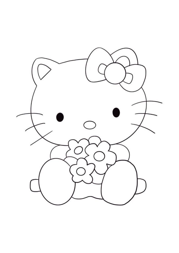 hello kitty da colorare 2