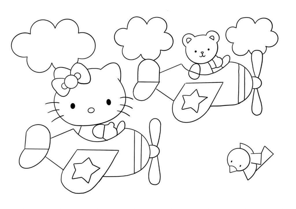 hello kitty da colorare 6
