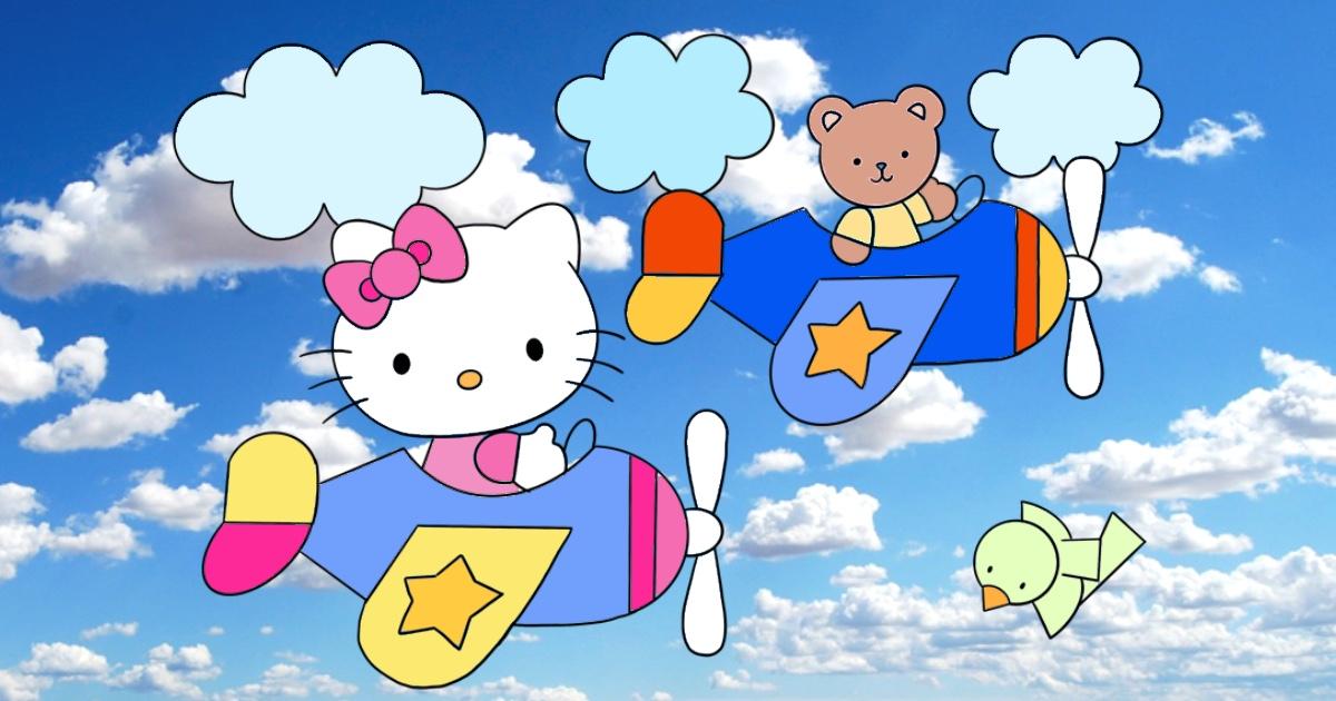 hello kitty da colorare