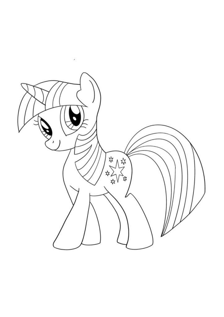 my little pony da colorare 4
