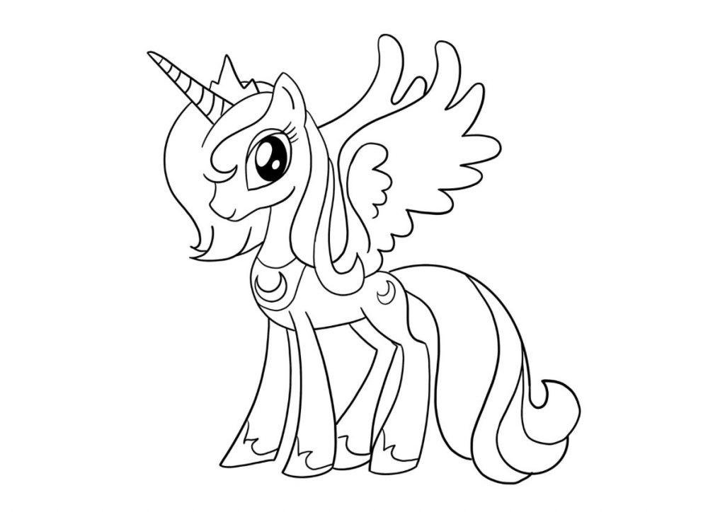 my little pony da colorare 1
