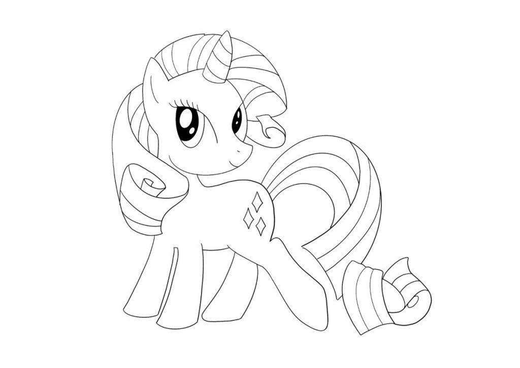 my little pony da colorare 2