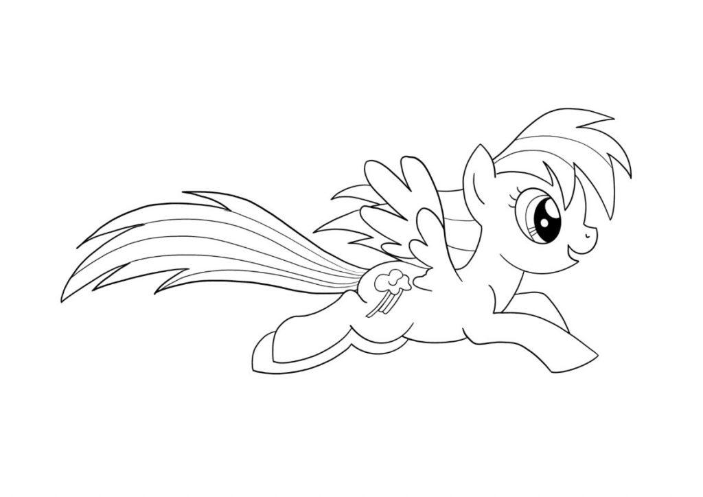 my little pony da colorare 3