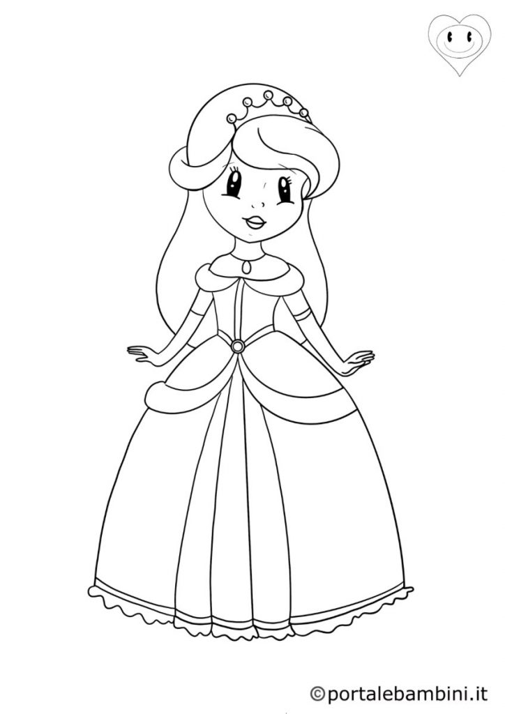principesse da colorare 2
