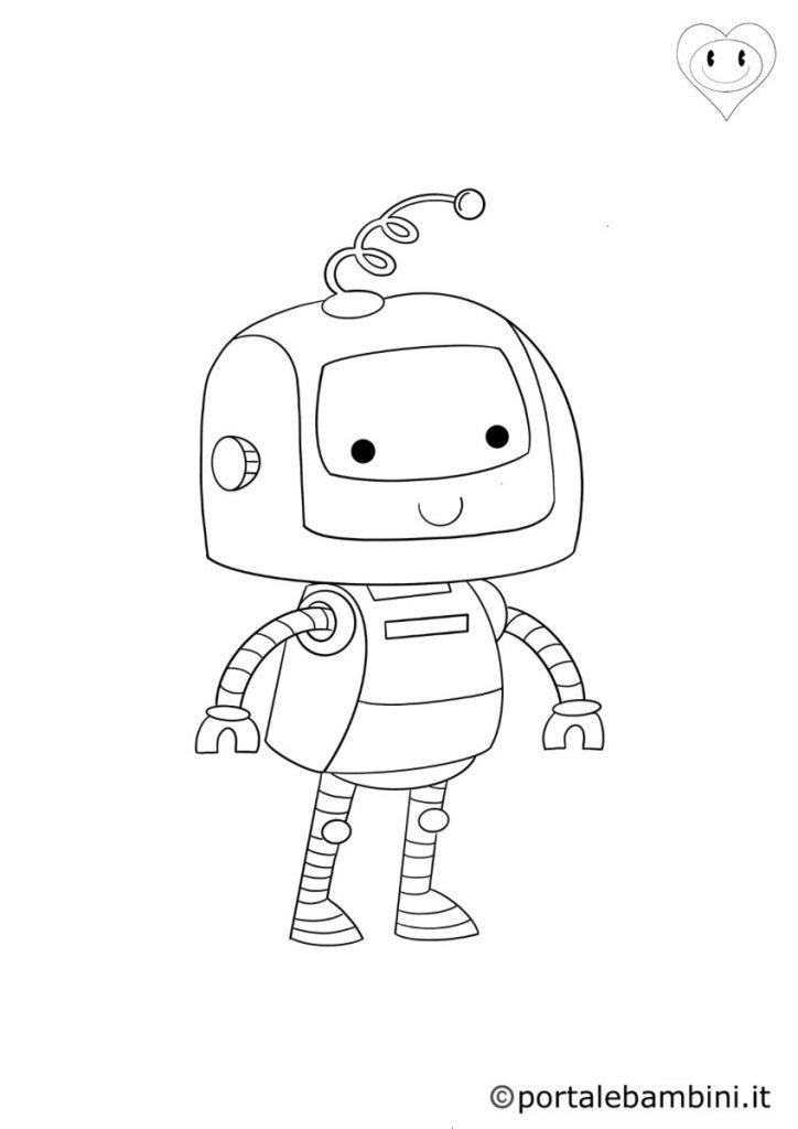 robot da colorare 3