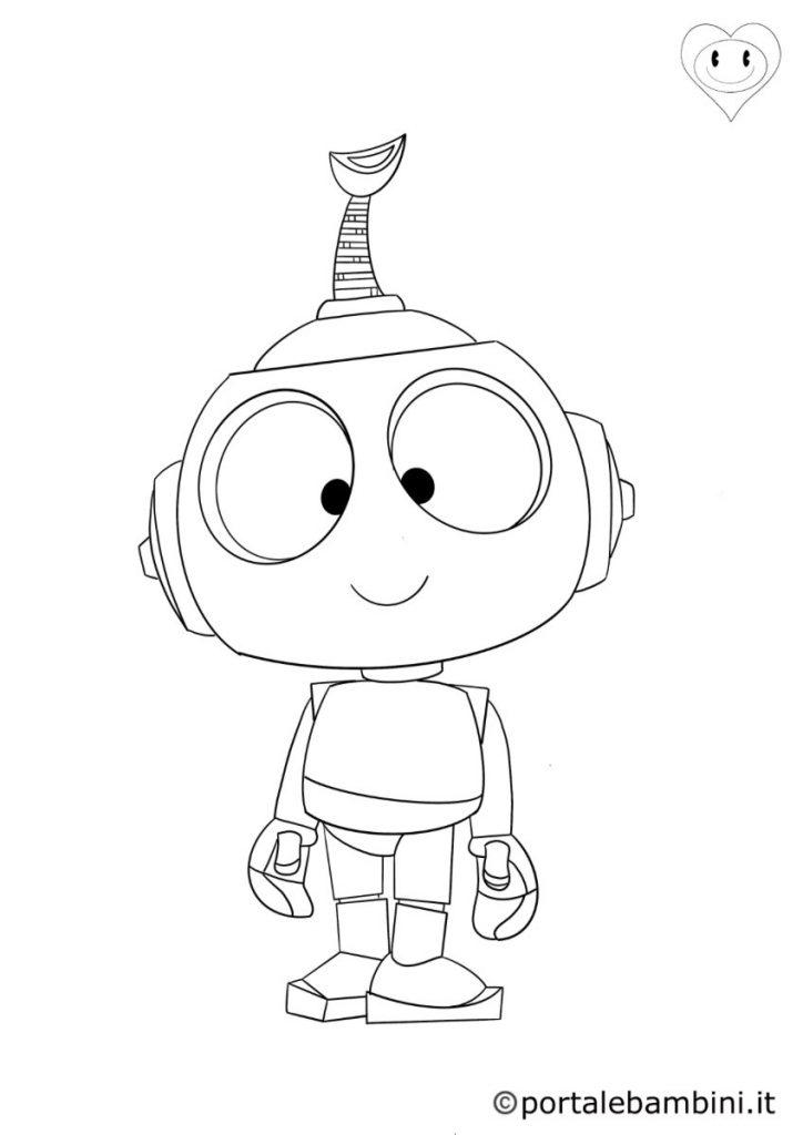 robot da colorare 2