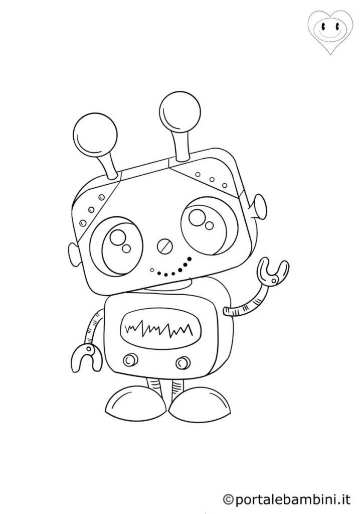 robot da colorare 1