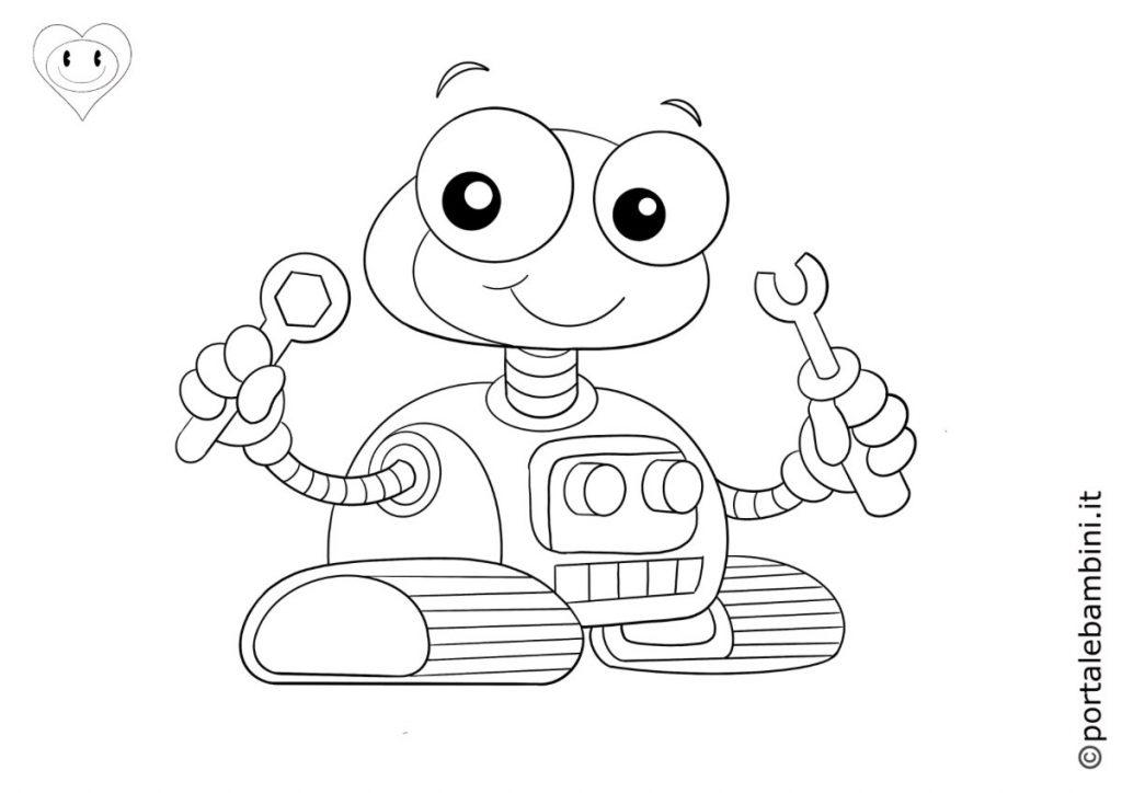 robot da colorare 4