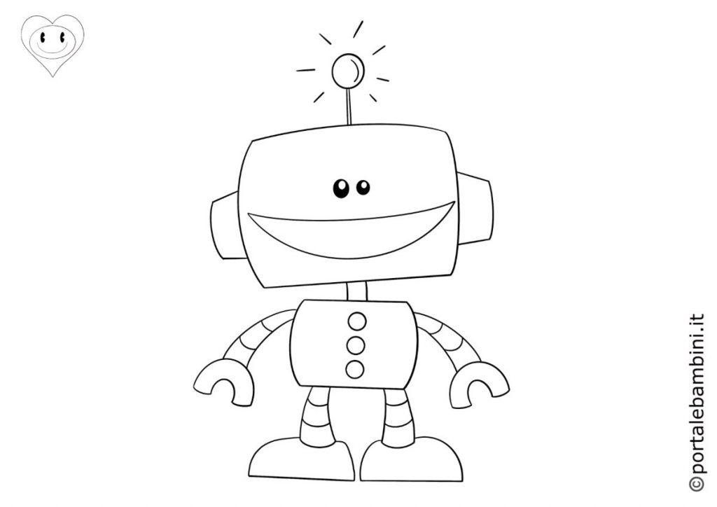 robot da colorare 5