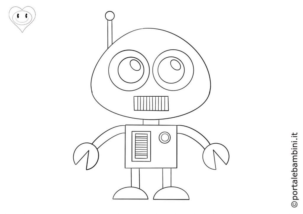 robot da colorare 6