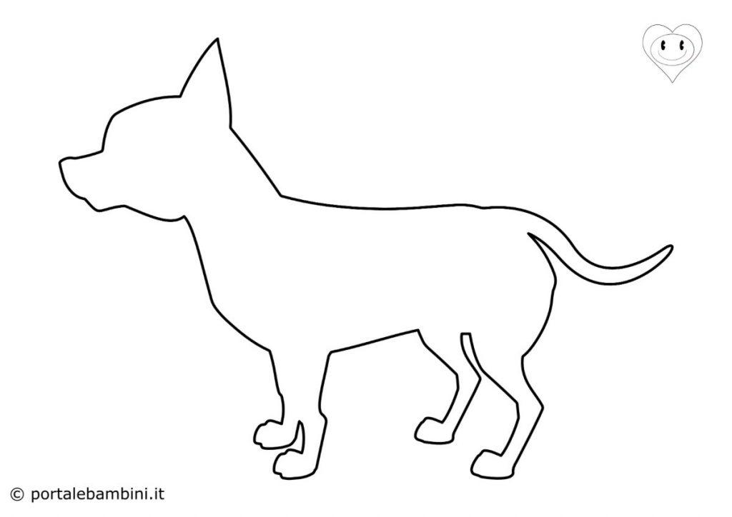 sagome di animali cane