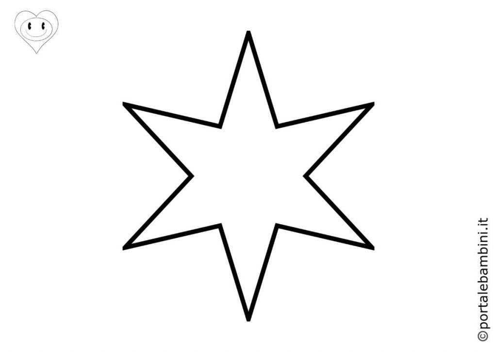 stelle da colorare 6