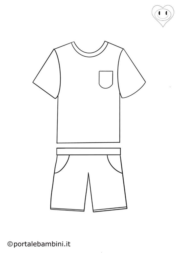 vestiti da colorare 1