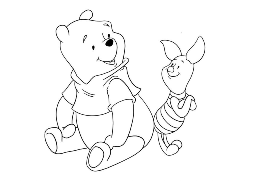 winnie the pooh da colorare 4