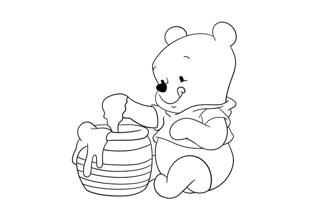 winnie the pooh da colorare 6