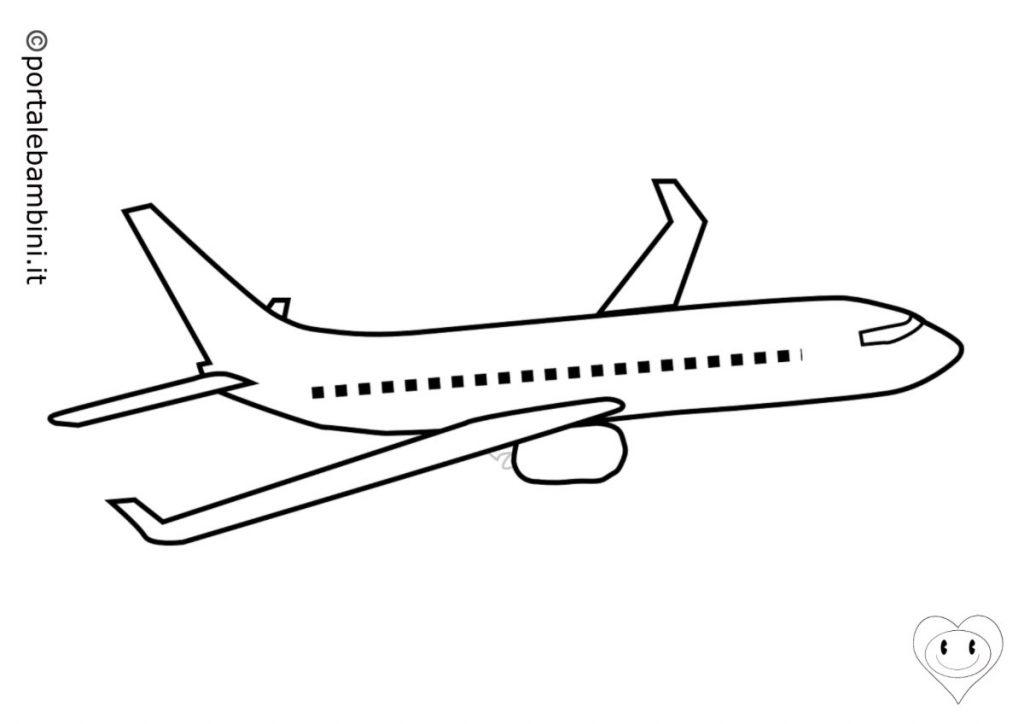 aerei da colorare 6