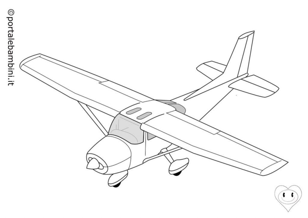 aerei da colorare 3