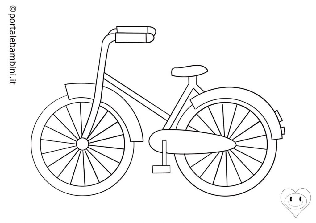 biciclette da colorare 3