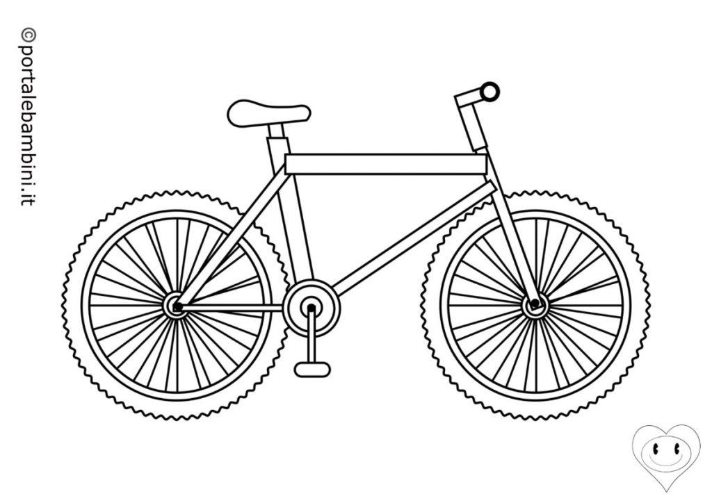 biciclette da colorare 2
