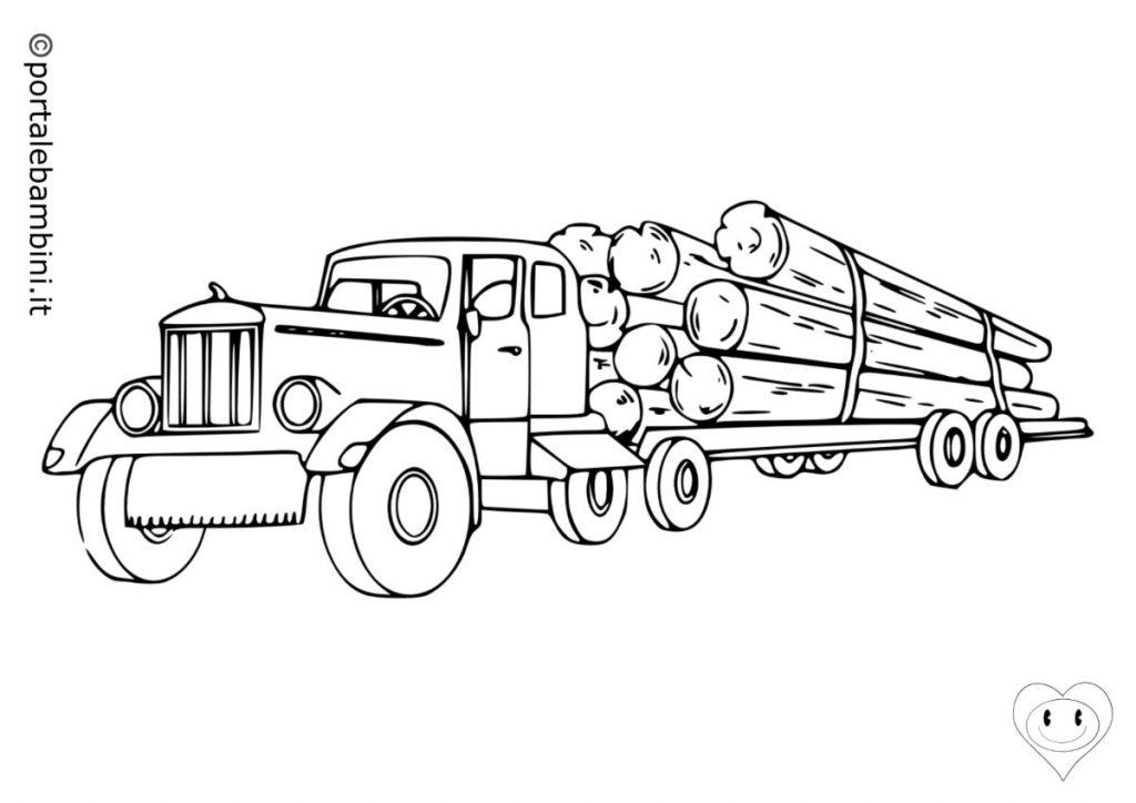 camion da colorare 3