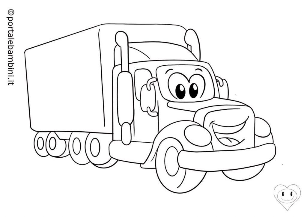 camion da colorare 1