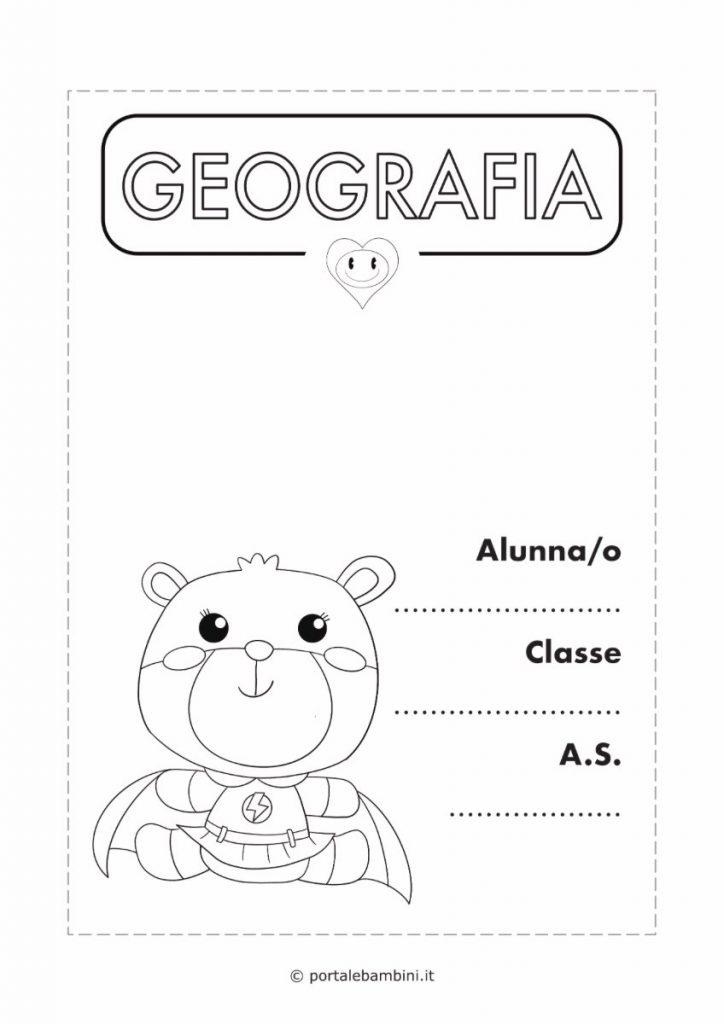 copertina quaderno di geografia 3