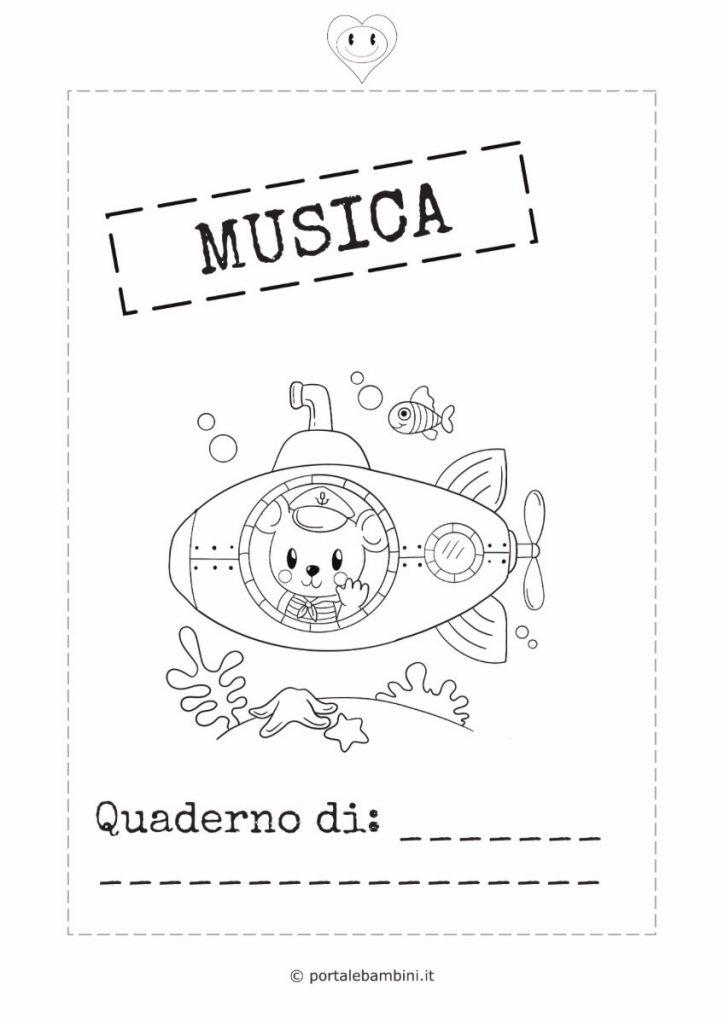 copertina quaderno di musica 2