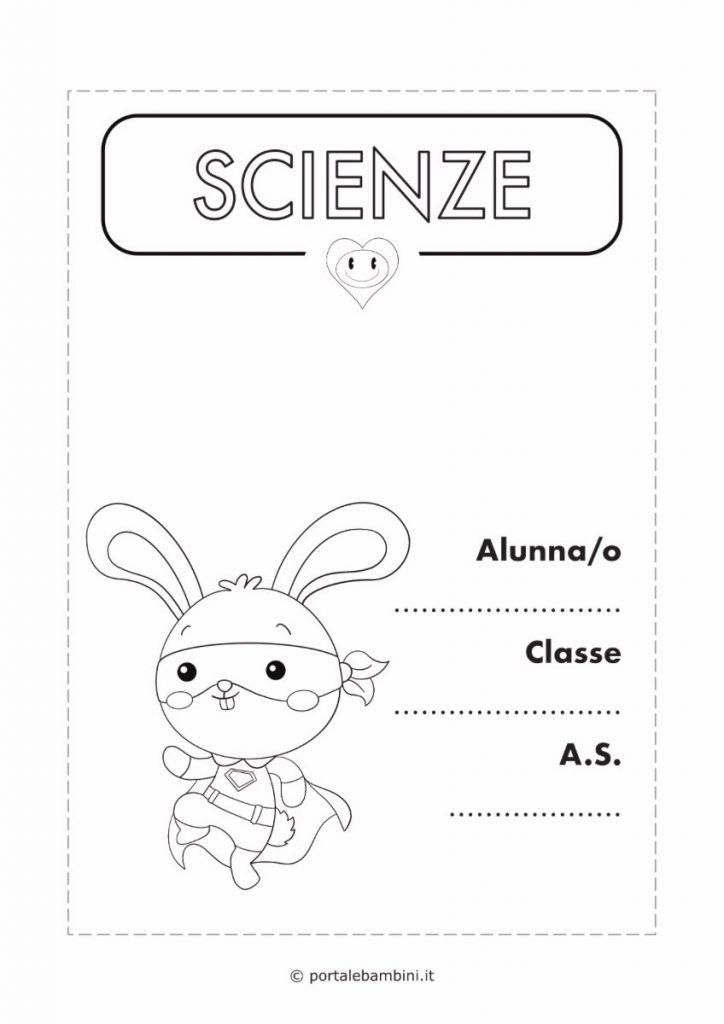 copertina quaderno di scienze 3