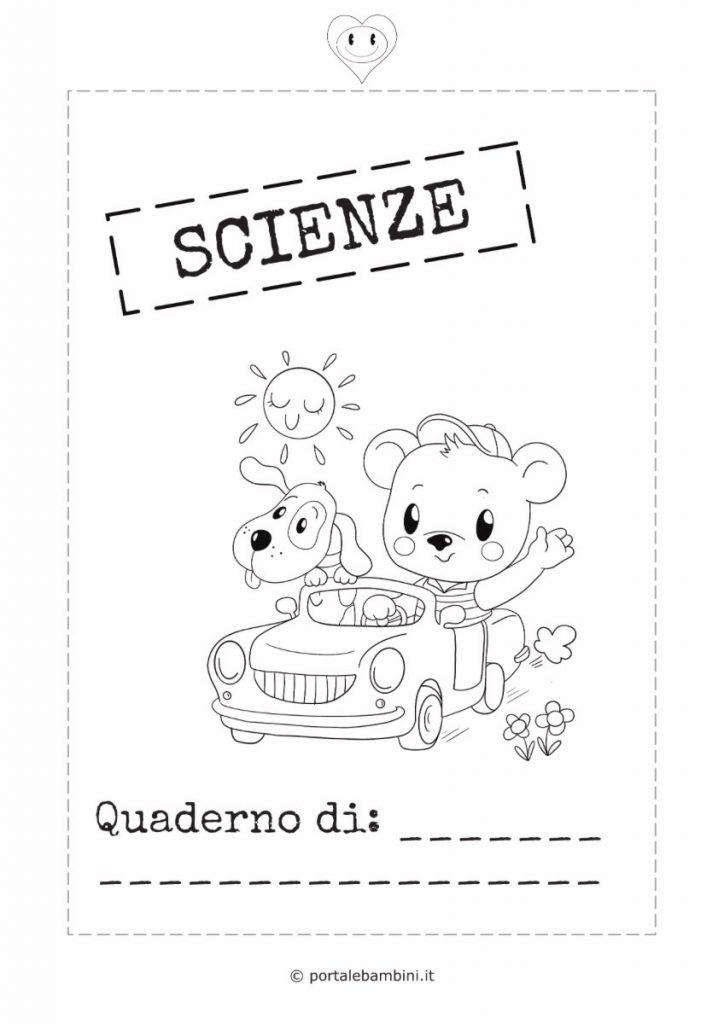 copertina quaderno di scienze 2