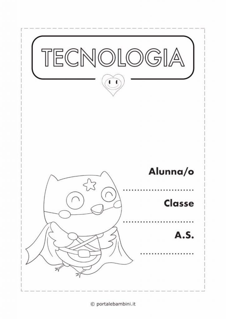 copertina quaderno di tecnologia 3