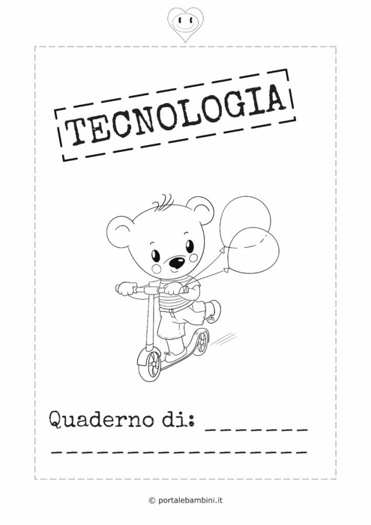 copertina quaderno di tecnologia 2